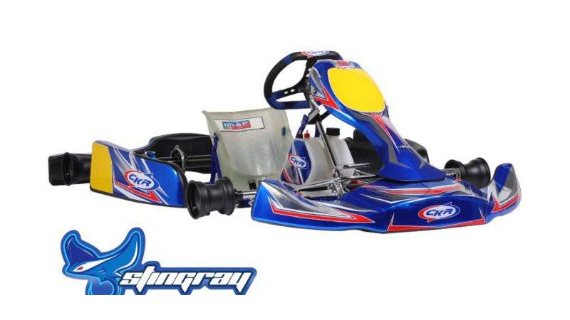CKR kart Stingray for 100cc competition