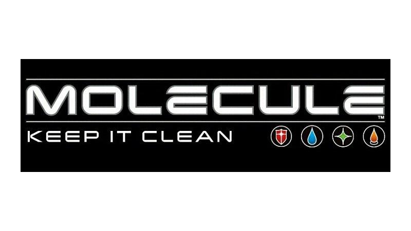Molecule cleaner brand logo